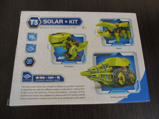 Конструктор на солнечной батарее 3в1 Динозавр Новый