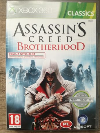 Gra assassin s creed brotherhood Xbox