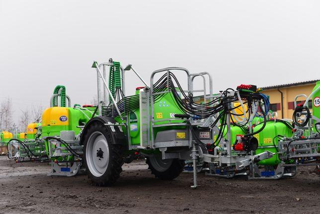 Opryskiwacz ciągany BRUNO 1500 - ocynk - hydrauliczne podnoszenie