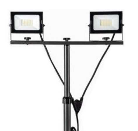 Tripe/ Suporte de Iluminação com 2x Projetores LED