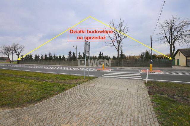 Wolin 14 km. Ogrodzona działka budowlana 5545m2 w centrum Brzozowa