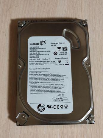 "Жесткий диск 3.5"" Hdd desktop Seagate 500GB Sata II"