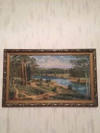 Картина гобелен «Знойный полдень»