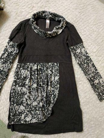 Теплое платье на 10 - 12 лет