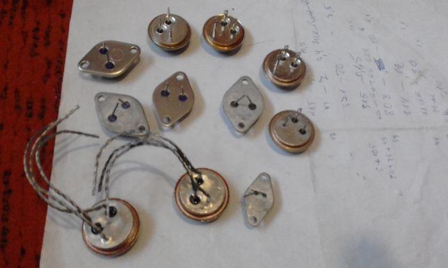 транзистор мощный советских времён