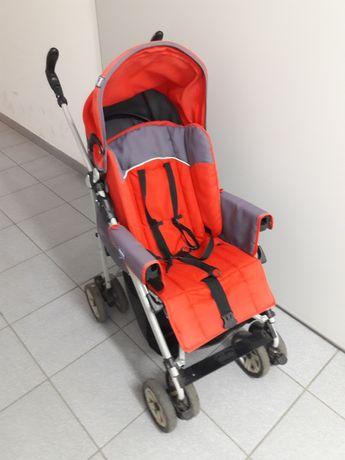 Wózek dziecięcy:gondola i spacerówka oraz fotelik Chicco