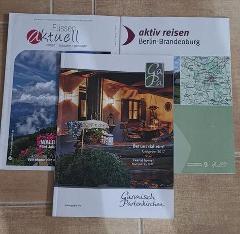 Niemiecki czasopisma 3 szt