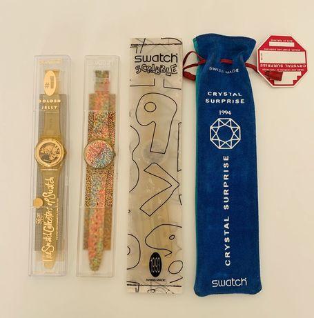 4 Swatch especiais Clube de Colecionadores