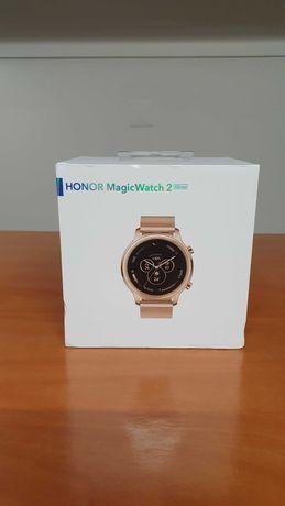 [PROMO] Huawei Honor Magic Watch 2 Dourado 42mm Garantia-CAIXA SELADA