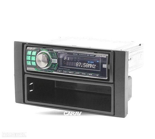 MOLDURA / ADAPTADOR PRETO PARA RADIO 1-DIN FORD FOCUS C-MAX S-MAX FUSION TRANSIT FIESTA GALAXY KUGA