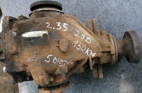 Mechanizm różnicowy , dyfer przełożenie 2.35 BMW E46 2.0D 150KM
