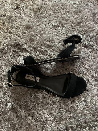 Sandałki czarne Steve Madden roz. 39