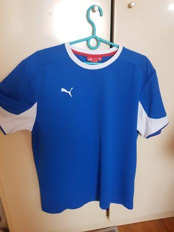 Koszulka PUMA niebieska rozmiar M sportowa przewiewna