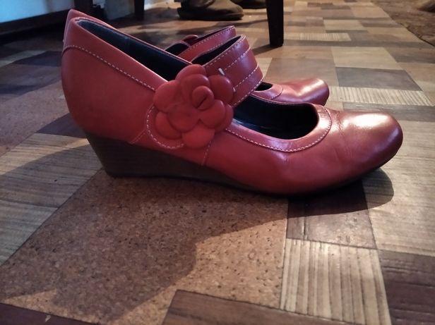 Туфли кожаные Р.37
