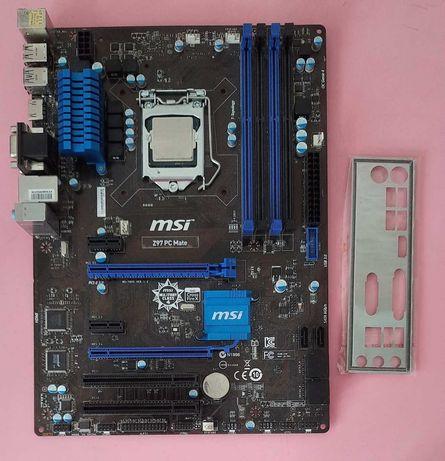 MSI Z97 PC Mate Socket 1150 Intel Z97 PCI-Ex16 4xDDR3 dimm