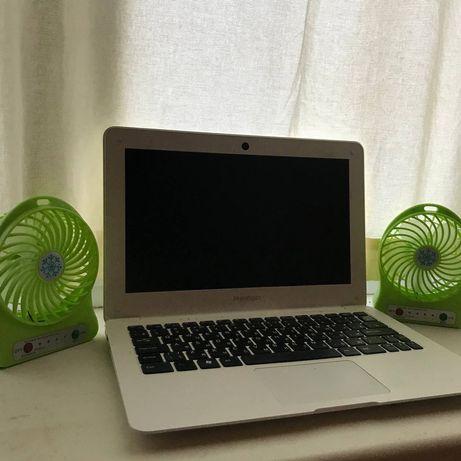 Вентилятор на батарее USB настольный для ноутбука смартфона активный 3