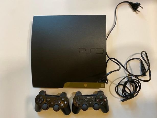 Konsola do gier PS3 320 GB plus kamerka i kontroler ruchu