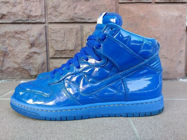 "Buty Nike Dunk High Supreme ""Olympic Octagon - Blue"" 2008 (44)"