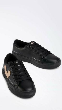 Sneakersy damskie, skórzane NOWE