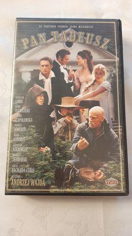 Pan Tadeusz kaseta VHS Andrzej Wajda