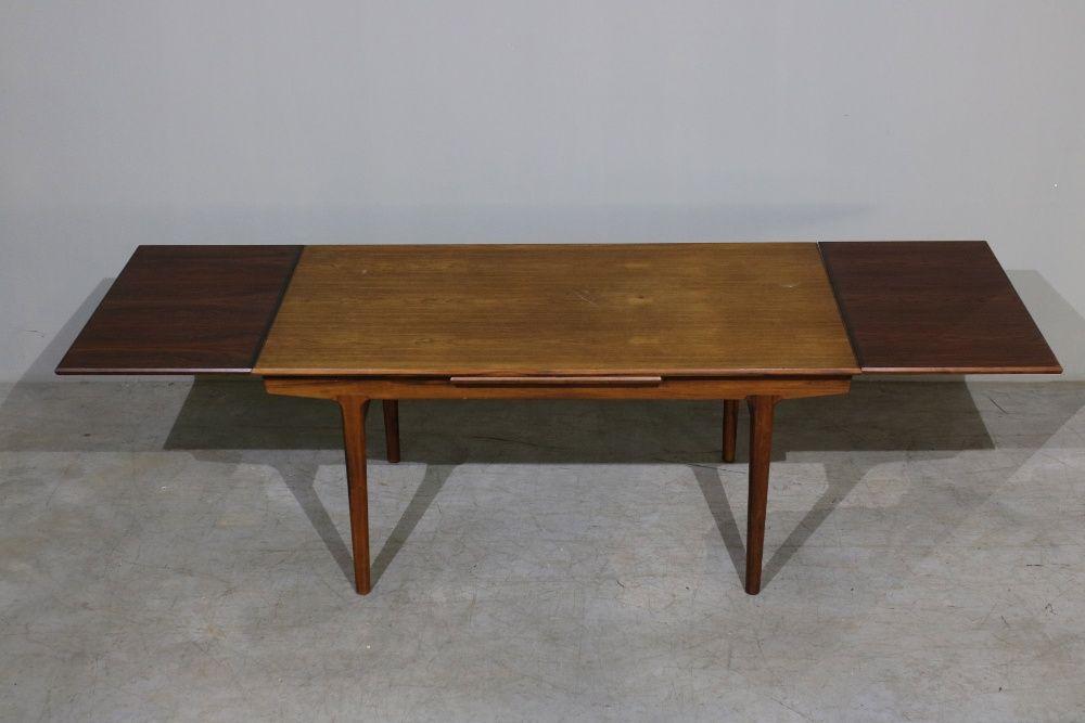 Mesa de jantar nórdica em pau santo   Mobiliário nórdico   Vintage Balazar - imagem 1