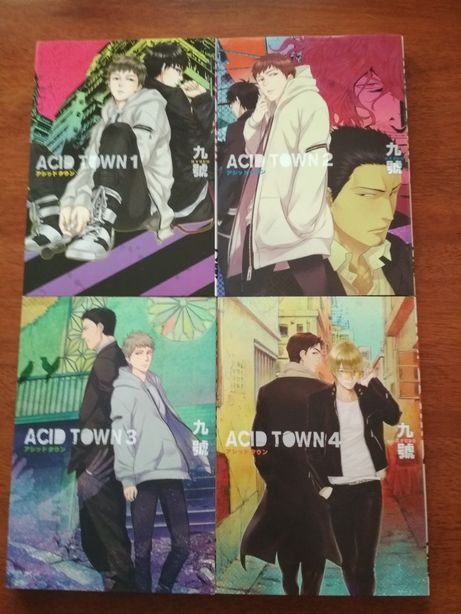 Acid Town - Kyuugou (tom 1-4) manga