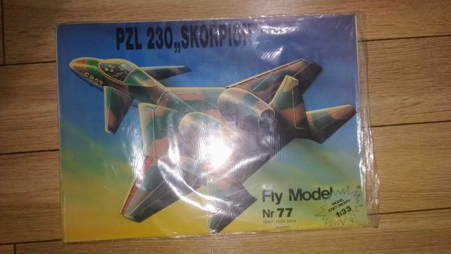 Model kartonowy Fly model Skorpion 1:33