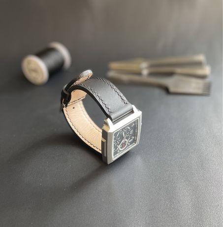 Кожаный ремешок на часы ручной работы, ремешок для часов из кожи