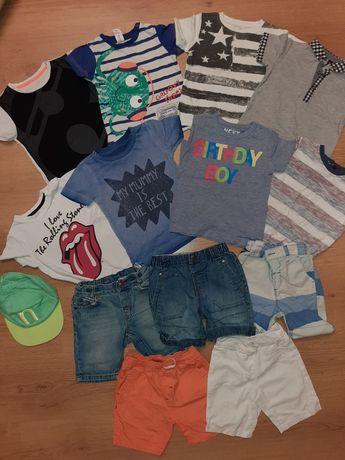 Шорти, футболки Next, Zara, George