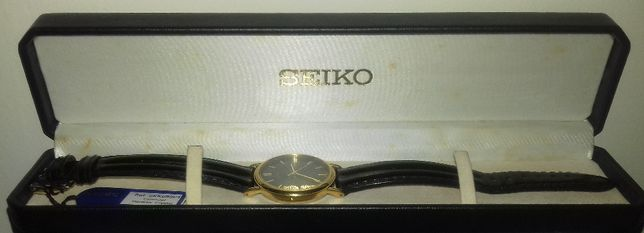 Relógio Seiko Estilo Clássico