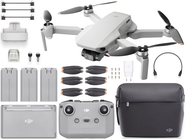 Dron DJI Mini 2 Fly More Combo (Mavic Mini 2) 4K NOWY MODEL