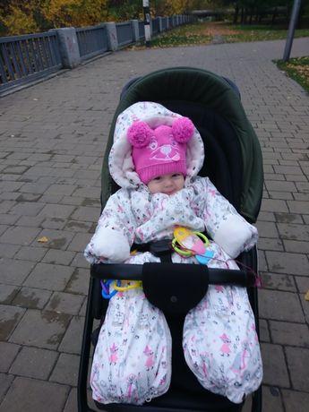 Детский зимний комбинезон 6 месяцев-1,2 года