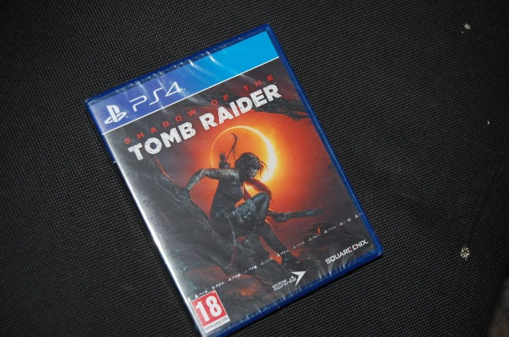 Gra Ps4 SHADOW OF THE Tomb Raider Nowa Folia PL Dąbrowa Górnicza - image 1