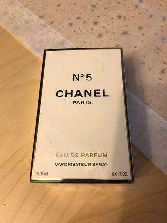 Chanel No5 edp. 200ml , oryginalny! Idealny prezent!