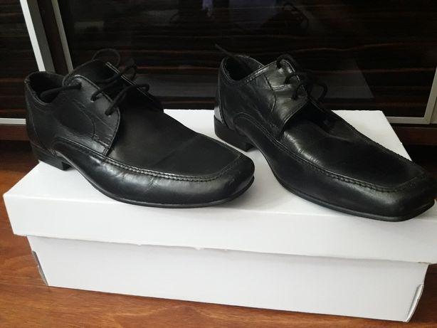 Eleganckie buty skórzane next rozmiar  32 jak nowe