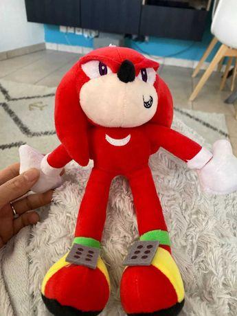 Peluche Knuckles Sonic the Hedgehog 25 cm - Novo e Lacrado ( imagem 3)