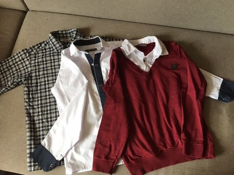 Сорочки рубашки обманка для хлопчика