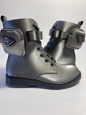 Демисезонные ботинки для девочки  32-37 Weestep