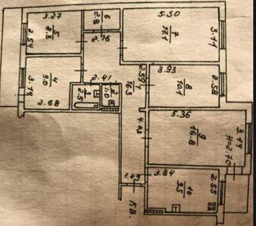 Интересное предложение!!! Приятная цена для 5 комнатной квартиры! ТВ2