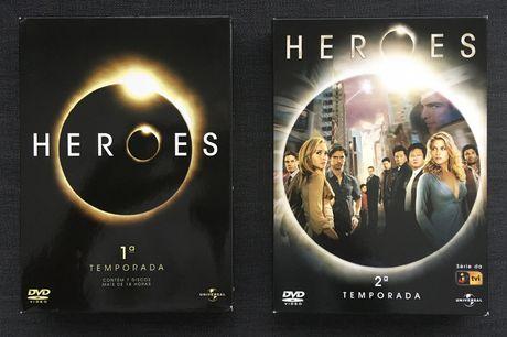 Heroes - Temporada 1 & 2 (Ed. PT) - portes incluídos