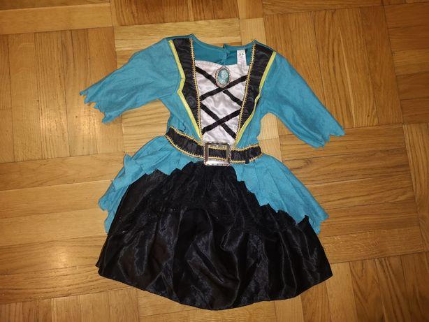 Sukienka podatki, piratka, pirat roz.5-6lat(110-116cm)