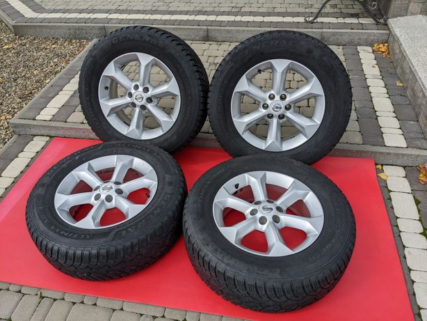Диски R17  6 114,3 Nissan Navara / Pathfinder + шини 245 65 R17