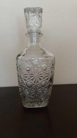 Garrafa em vidro para servir licor/whisky