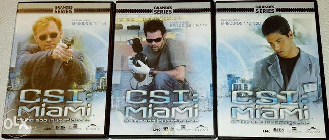 CSI Miami T1 em DVD