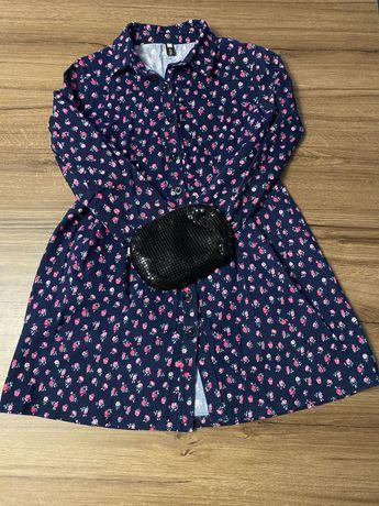 Продам платье в мелкий цветок