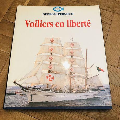 Album żaglowce vintage Thalassa 1989 Unikat Dar Młodzieży