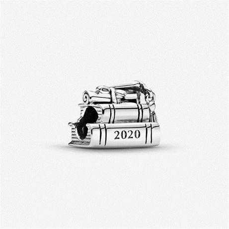 Charms do PANDORA srebro 925 Zakończenie Szkoły 2020 okazja tanio