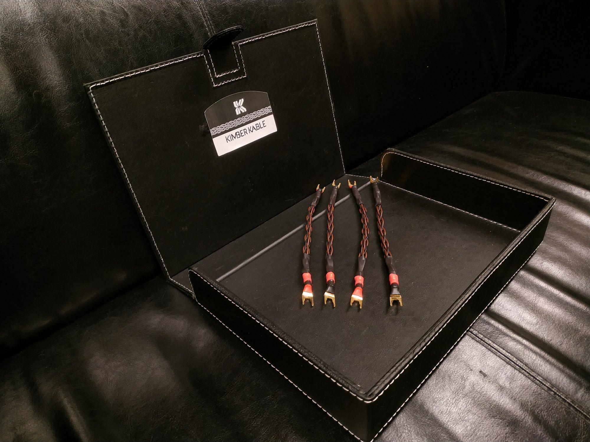 Kimber Kable 4pr 8pr zworki kable głośnikowe widełki lub banany