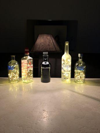 Candeeiros garrafa