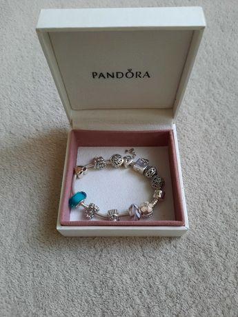 Лучший подарок!!! Браслет Pandora c шармами. ОРИГИНАЛ!